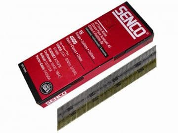 Chisel Smooth Brad Nails Galvanised 15G x 44mm (Pack 4000)